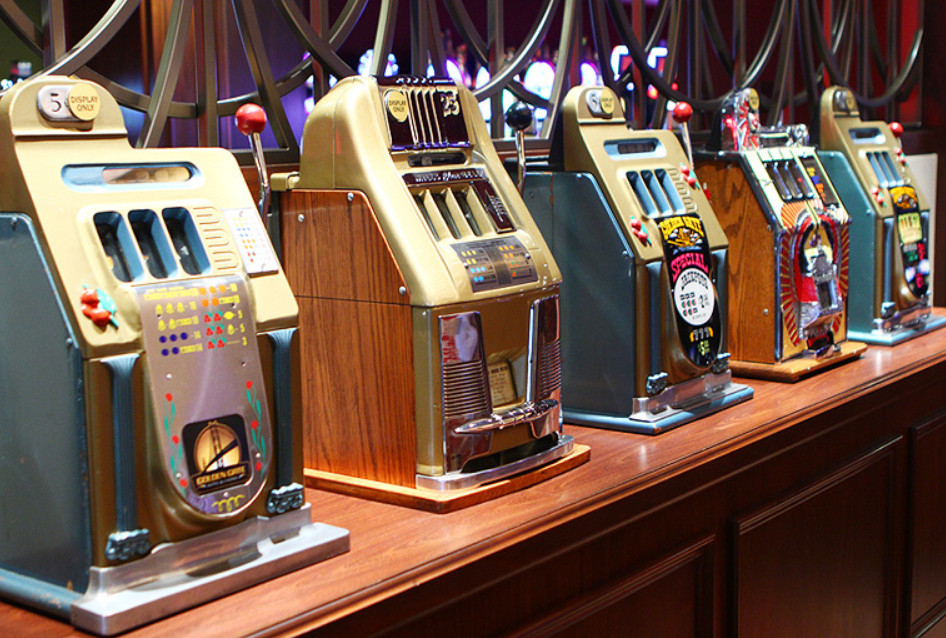 Online slot machine history