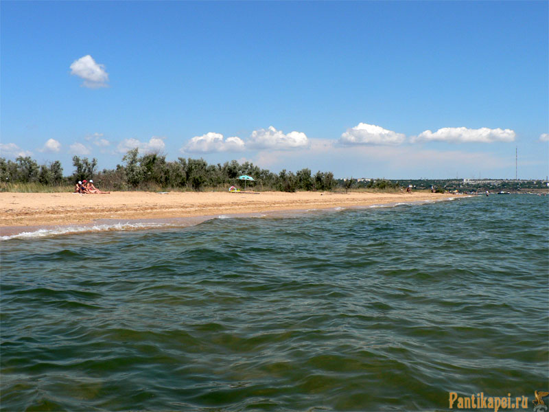 Пляжи в Керчи, Аршинцевская коса