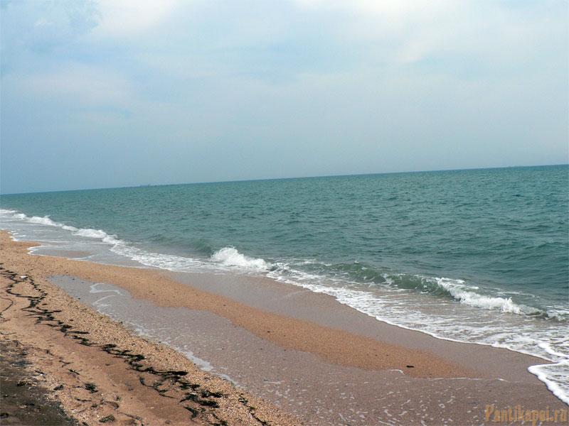 Пляж в Героевке