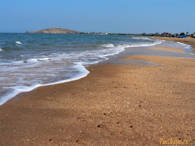 Пляжи в Курортном около Керчи