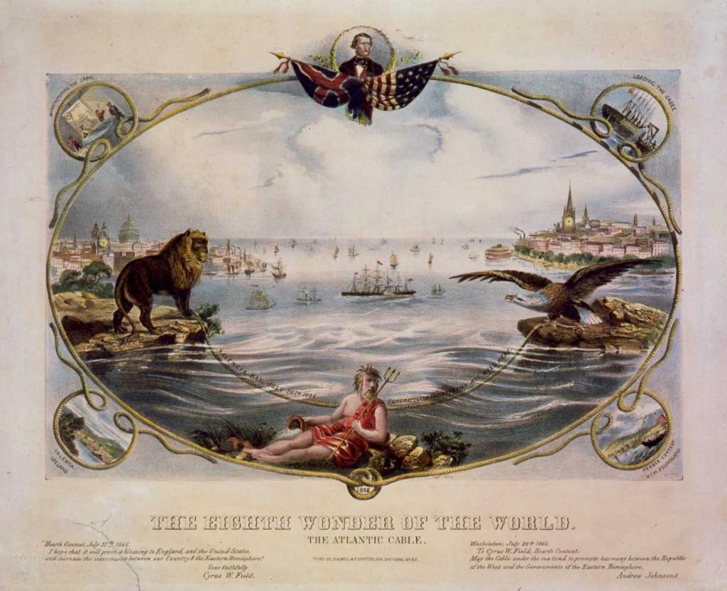 8 чудо света прокладка индо-европейского телеграфного кабеля в 1864 году.