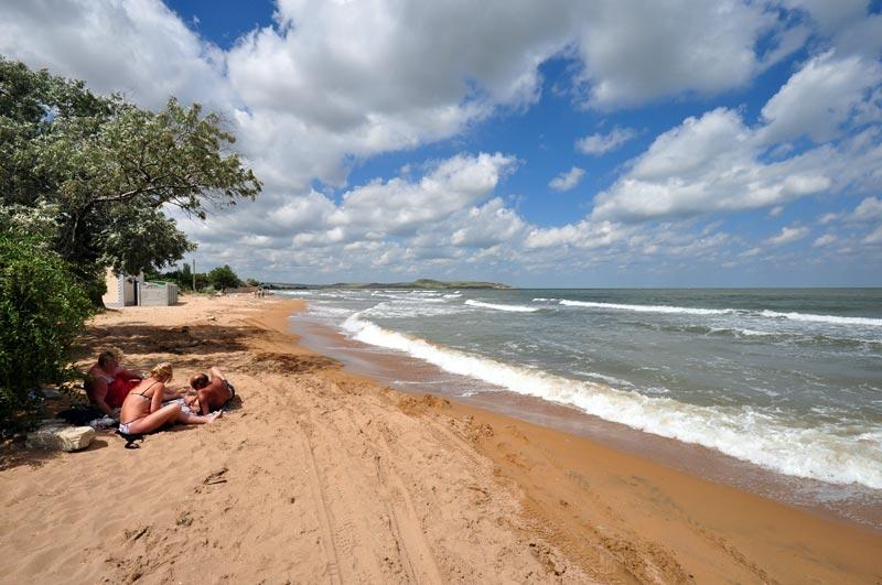 Пляж в Курортном, Керчь