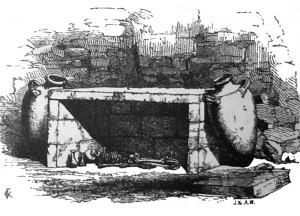 Каменные гробницы, Керчь 1856