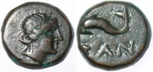 Спарток IV Медный Дихалк