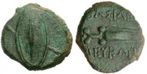 Левкон II Медный Дихалк