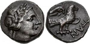 Перисад III серебряная драхма