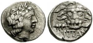 Перисад III серебряная гемидрахма