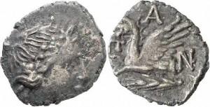 Перисад III серебряный пентобол