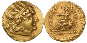 Царь Пантикапея Перисад 5. Золотой статер