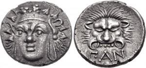 Перисад - I Серебряная Гемидрахма