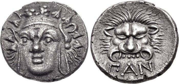 Серебряные монеты пантикапея фото древние города россии