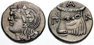 Спарток III Серебряная Тридрахма