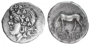 Перисад II Серебряная Дидрахма