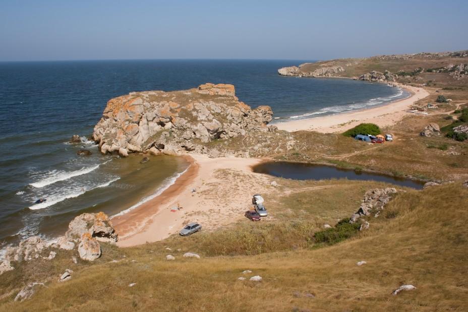 Крым. Азовское море