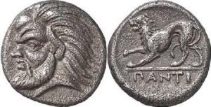 Левкон I, Серебрянный Триобол