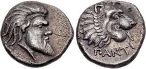 Левкон I, Серебрянная Гемидрахма