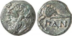 Левкон I, Медная Лепта