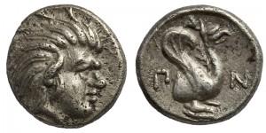 Левкон I, Серебрянный Обол