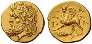 пантикапей - золотые монеты