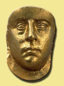 Некрополь Пантикапея-3в.-погребальная маска царя.