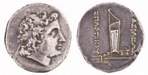 Спарток V Серебряная дидрахма