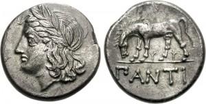 Спарток III Серебряная Тетрадрахма