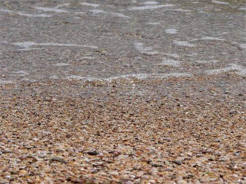 Песочный пляж в Героевке