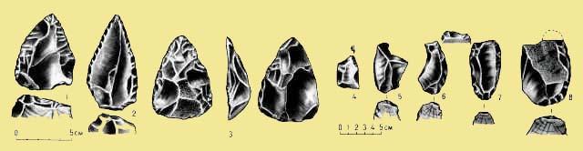 Орудия человека каменного века, Крымского приазовья