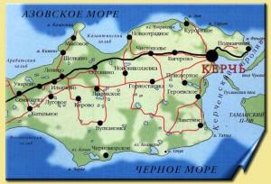 Керченский полуостров, Восточный Крым