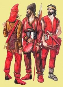 Одежда народа киммерийцев