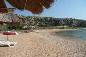 Пляж. База отдыха Красивое место