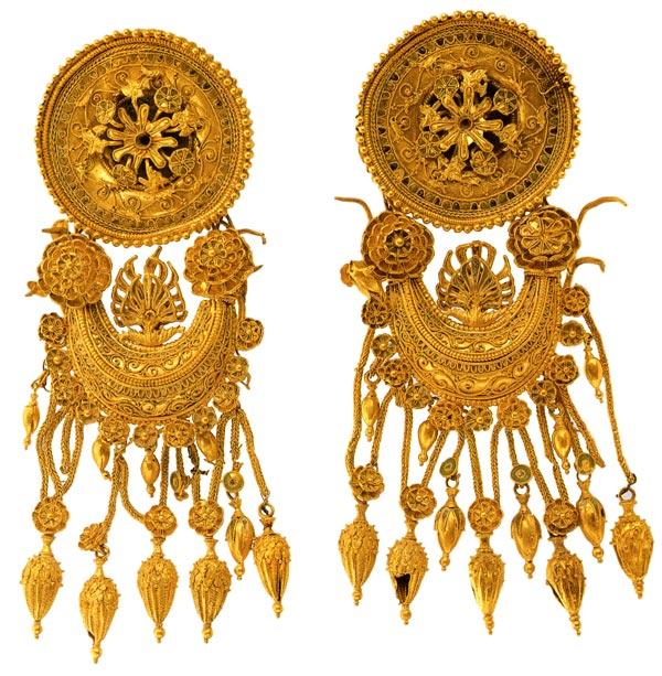 Золотые украшения Пантикапея