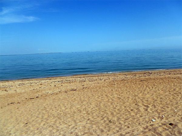 Пляж, Героевка