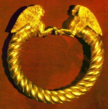 Золотой браслет из Куль-Обы