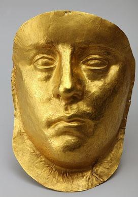 Посмертная маска царя Пантикапея