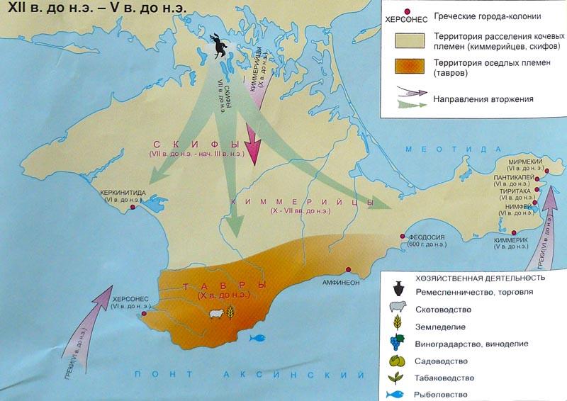 Колонизация греками в 6 веке до нашей эры