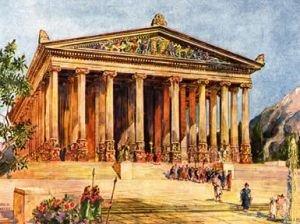 Храм Дианы. Пантикапей