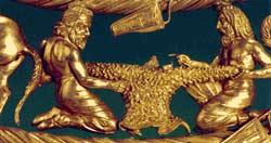 Пектораль - золото скифов