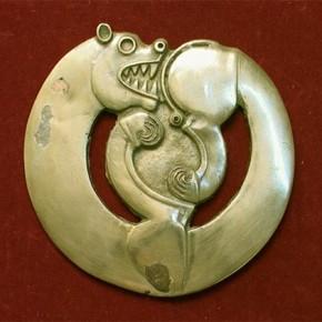 Нагрудное украшение - бляха царского коня.