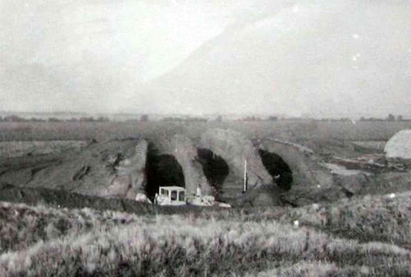 Раскопки в Чертомлыкском кургане