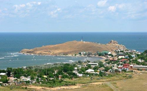 село Курортное, около Керчи