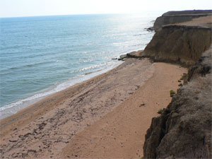 побережье у Керчи