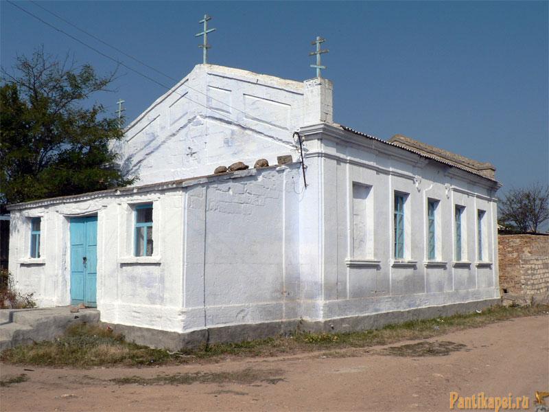 Старообрядческая церковь в Крыму, Керчь, пос. Курортное