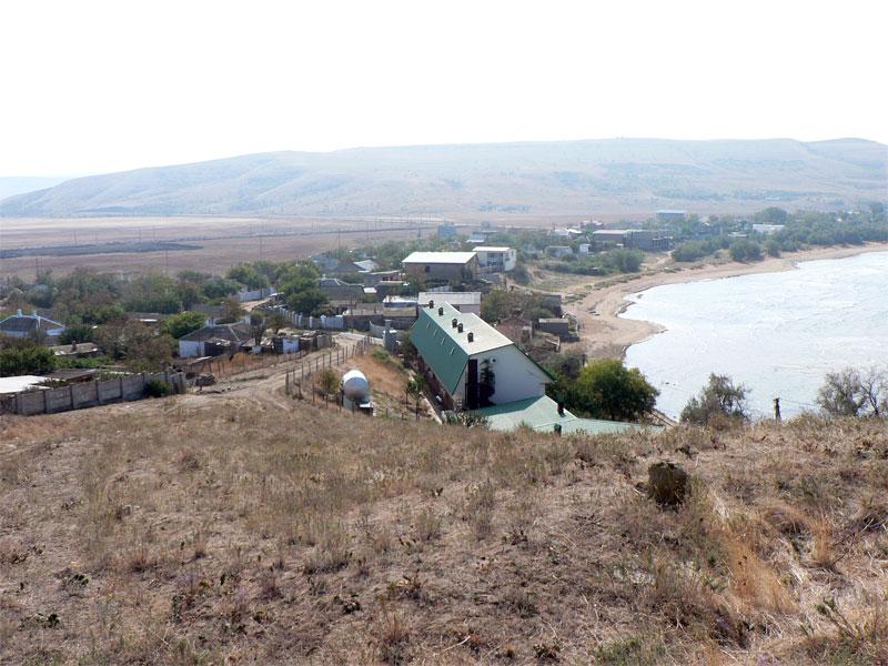 Курортное, вид на поселок