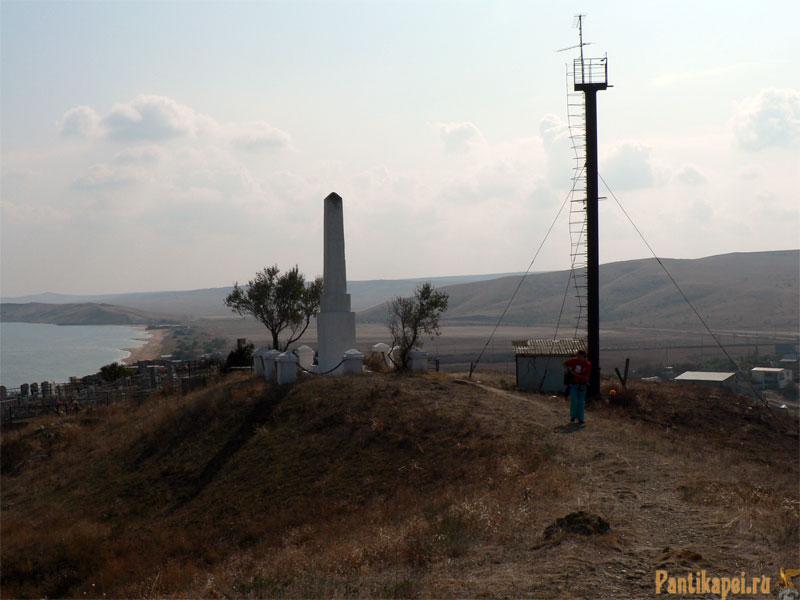 Керчь, Курортное, памятник погибшим в Великую Отечественную