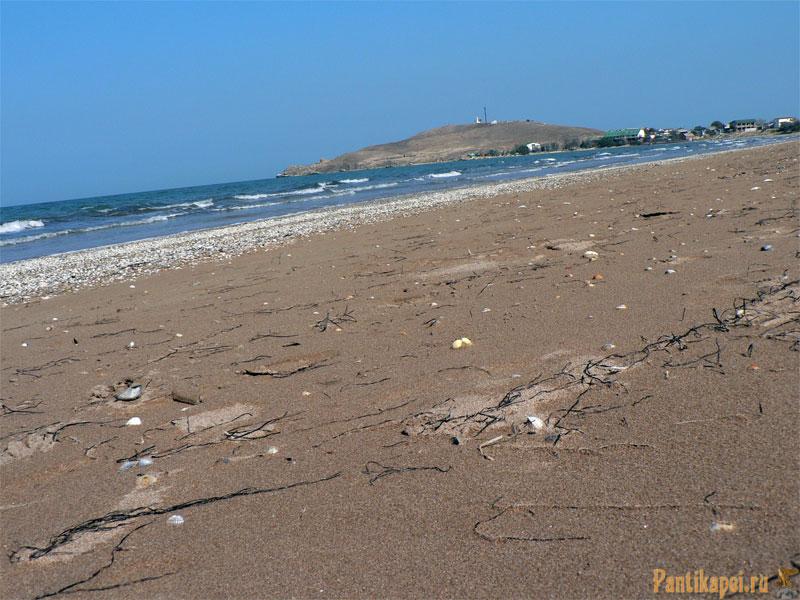 Пляж в Курортном, под Керчью