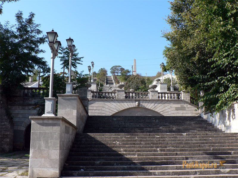 Пантикапей - Лестница митридат