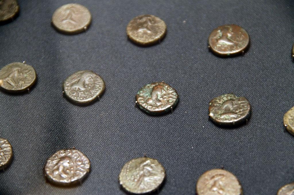 Монеты из Германии в музей Керчи