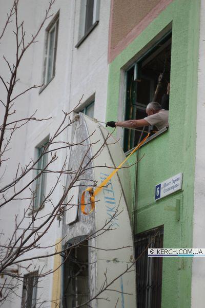 Как затащить лодку на 2 этаж, фото