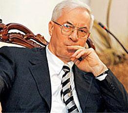 Николай Азаров – премьерминистр.